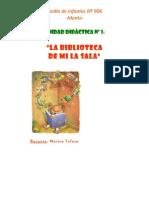 61161215 UNIDAD DIDACTICA Nº 1 La Biblioteca de Mi Sala