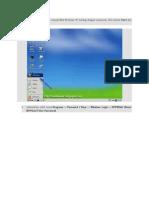 Tunggu Beberapa Saat Sampai Mini Windows XP Loading Dengan Sempurna