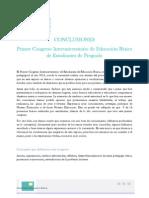 Conclusiones 1er Congreso Básica