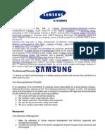 Samsung Electronics Co.docx
