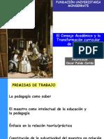 Consejos Académicos y Ciclos