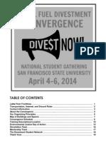 Divestment Program