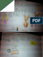5-9 Goldilocks and the Three Bears Writing