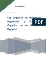 Ley Organica de Gobiernos Regionales (1)