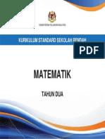 Dokumen Standard Matematik Tahun 2