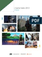 Nordic Game Sales 2013