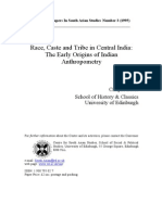 Early Origins of Indian Anthropometry - Crispin Bates (1995)