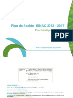 Plan Acción SINAC 2013-2017