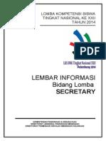 2. Informasi Lomba Lks 2014