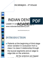 Begg Stage -3 Ortho / orthodontic courses by Indian dental academy
