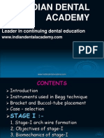 Begg Technique ORTHO / orthodontic courses by Indian dental academy
