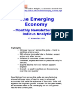 Emerging Economy November 2009 Indicus Analytics