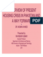 Housing Situation by Noman Ahmed