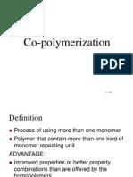 Chapter 3 Co-polymerization