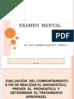 Examen Mental Callao