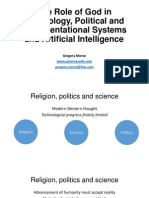 The Role of God in Technology, Political and Representational Systems and Artificial Intelligence