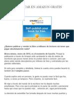 Como Publicar en Amazon Gratis _ Escribe Novela Romántica