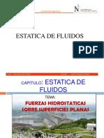 Fuerzas Hidrostaticas Sobre Superficies Planas