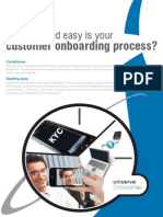 How fast and easy is your customer onboarding process?