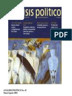 Análisis Político 43 Artículo de Francisco Gutierrez 61-83