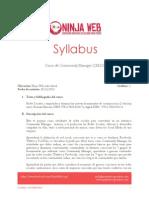 Syllabus Cm Ninjaweb