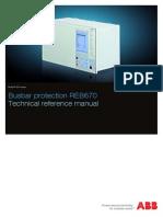 1MRK505208-UEN C en Technical Reference Manual REB670 1.2
