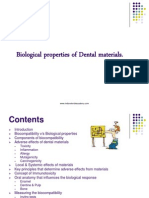 Biological Properties of Dental Materials 1-General Dentistry / orthodontic courses by Indian dental academy