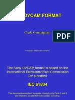 Dv Cam Format