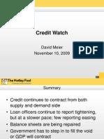 Credit Watch Nov2009