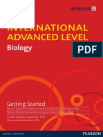 IAL Biology Getting Started Issue 1