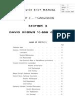 Atkinson Tractor Service Shop Manual Unit 2 - Transmission