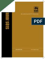 SLQS Journal Vol. 01
