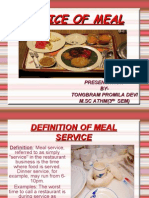 Definition of Meal Service...Promila