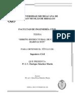 DISEÑO ESTRUCTURAL DE CASA HABITACION