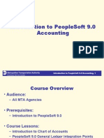 Introduction to PeopleSoft 9.0 Accounting