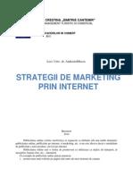 Strategii de Marketing Proiect