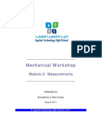 Atm-1022 Mechanical Workshop Module 2-1