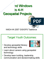 Doors and Windows Into 4-H Geospatial Projects