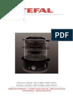 Tefal Steam Cuisine 700 & 1000 Turbo - manual