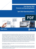 FXCM Q1 2014 Earnings Presentation