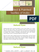 Printed & Painted Textiles of India