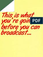 Radio Script Format