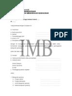 Formulir IMB