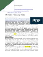 teoria procesarii informatiilor