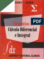 Elementos de Calculo Diferencial e Integral Sadosky Completo