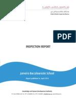 KHDA Inspection Report - Jumeira Baccalaureate School