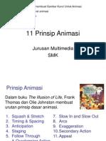 11 Prinsip Animas