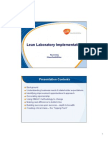 Lean Laboratory Implementation - Ivy Leung