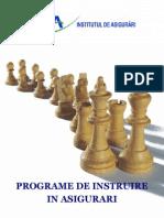 Programe de Instruire in Asigurari