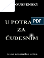 P.D.ouspensky - U Potrazi Za Čudesnim